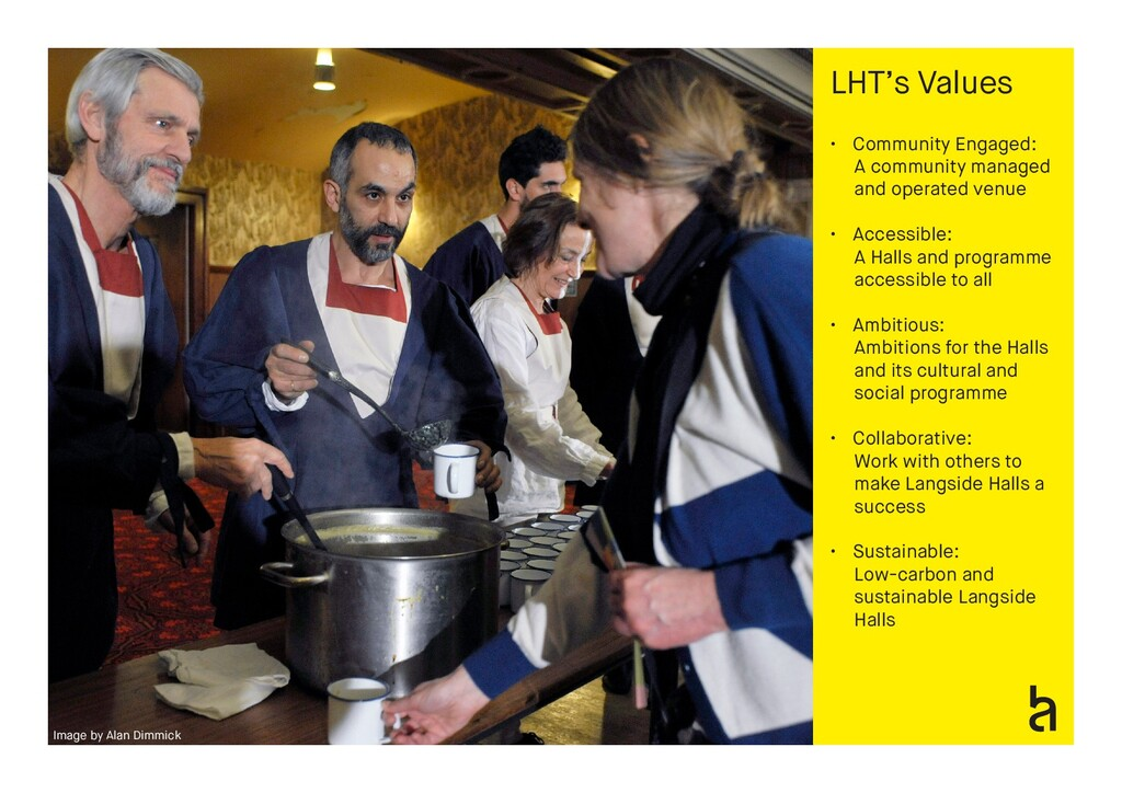 Image by Alan Dimmick LHT's Values • Community ...