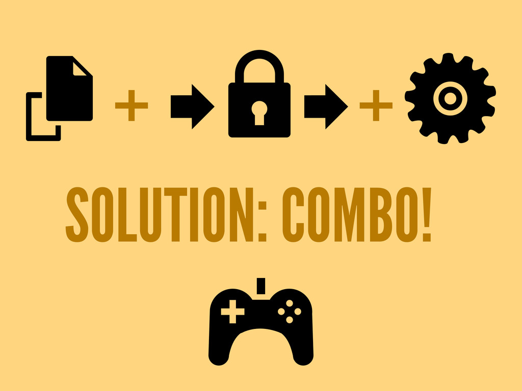 SOLUTION: COMBO! + +