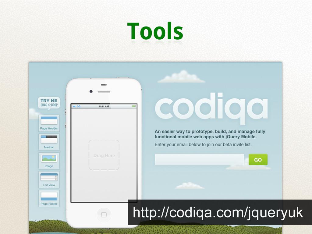 Tools http://codiqa.com/jqueryuk