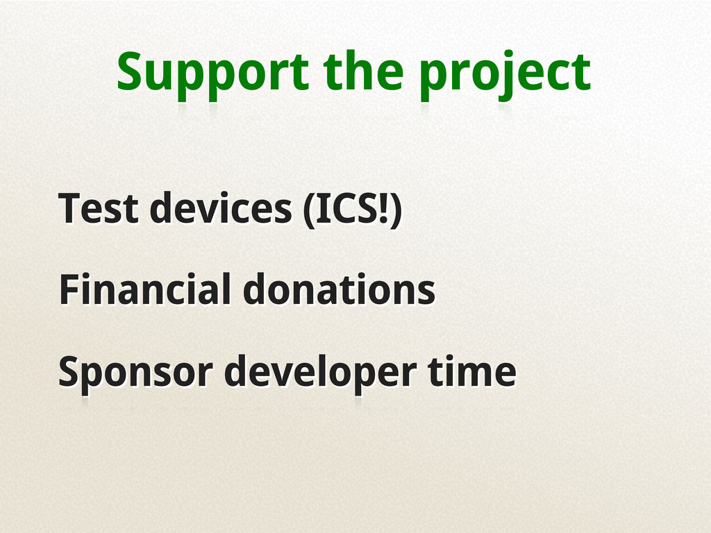 Support the project Test devices (ICS!) Financi...