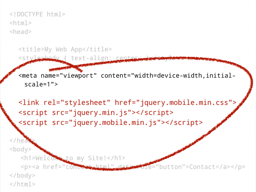 <!DOCTYPE html> <html> <head> <title>My Web App...