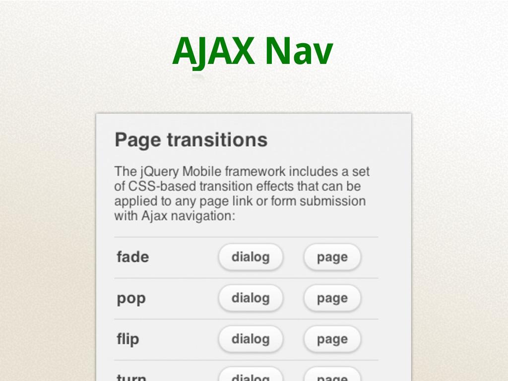 AJAX Nav