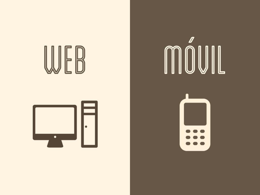 WEB MÓVIL