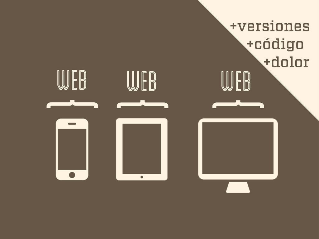 { { { web web web +versiones +código +dolor