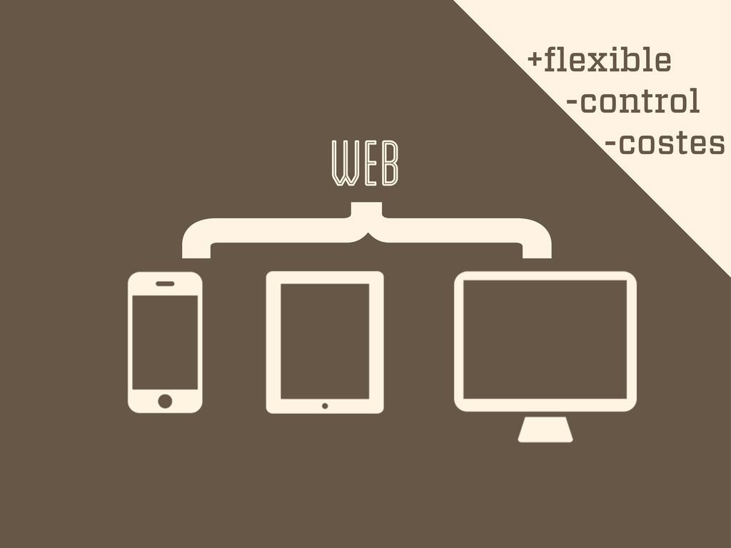 { web +flexible -control -costes