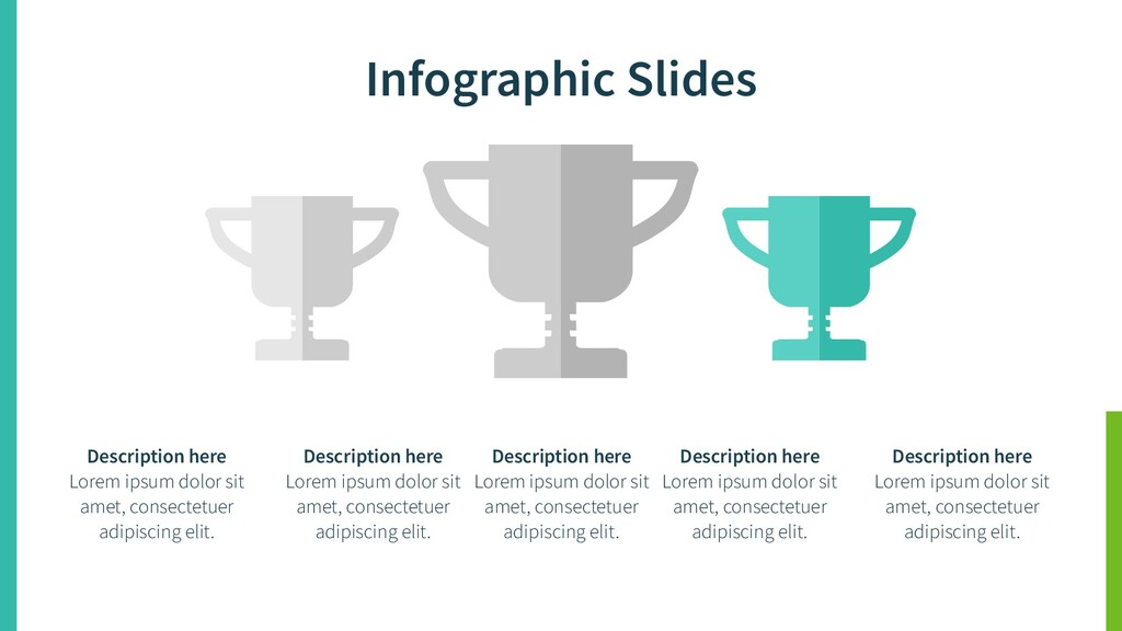 Infographic Slides Description here Lorem ipsum...
