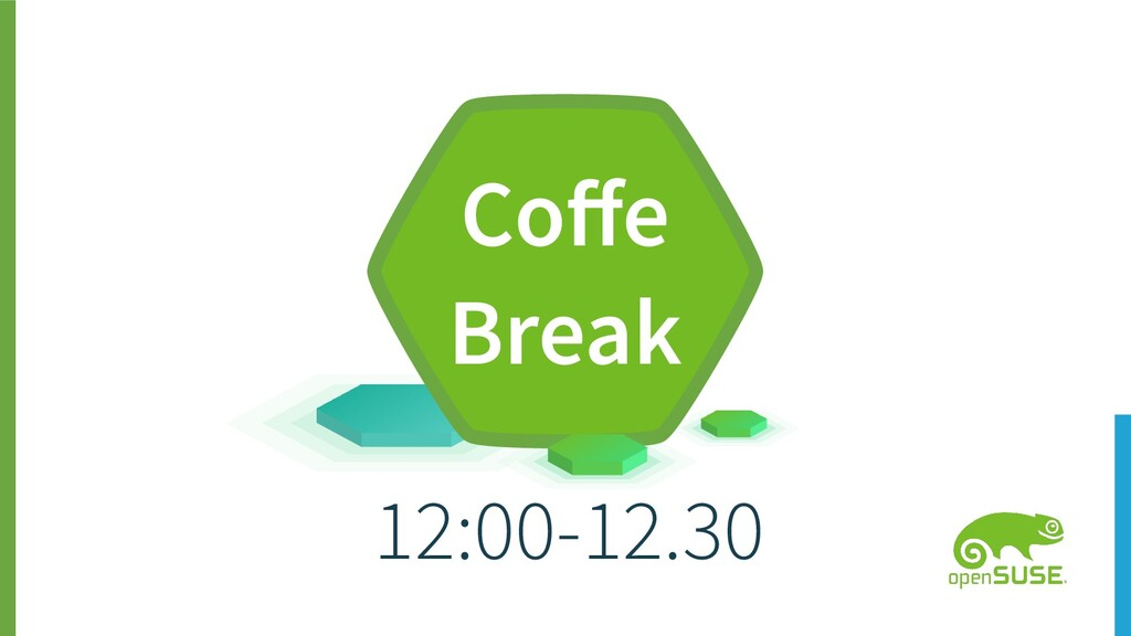 12:00-12.30 Coffe Break