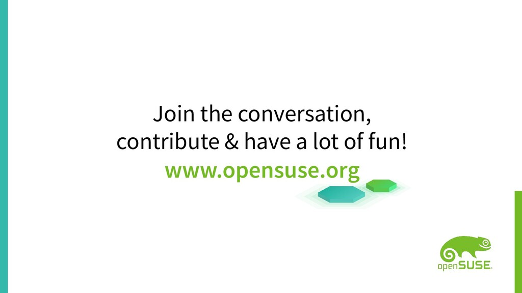 Join the conversation, contribute & have a lot ...