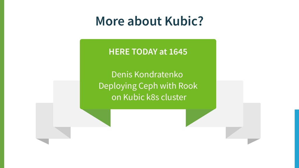More about Kubic? HERE TODAY at 1645 Denis Kond...
