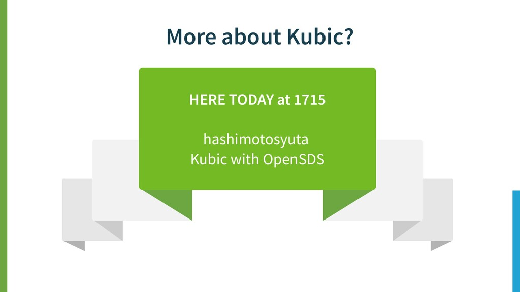 More about Kubic? HERE TODAY at 1715 hashimotos...