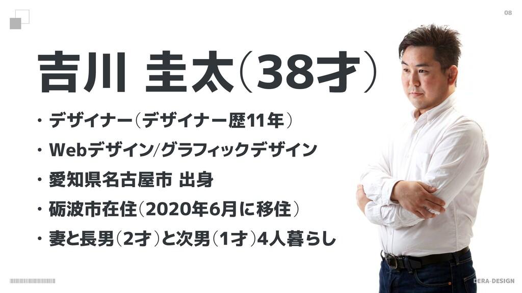 DERA-DESIGN 吉川 圭太 (38才) ɾデザイナー (デザイナー歴11年) ɾWeb...