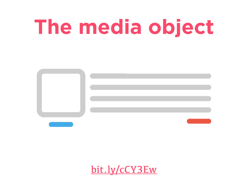 The media object bit.ly/cCY3Ew