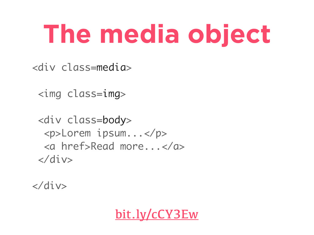 The media object bit.ly/cCY3Ew <div class=media...