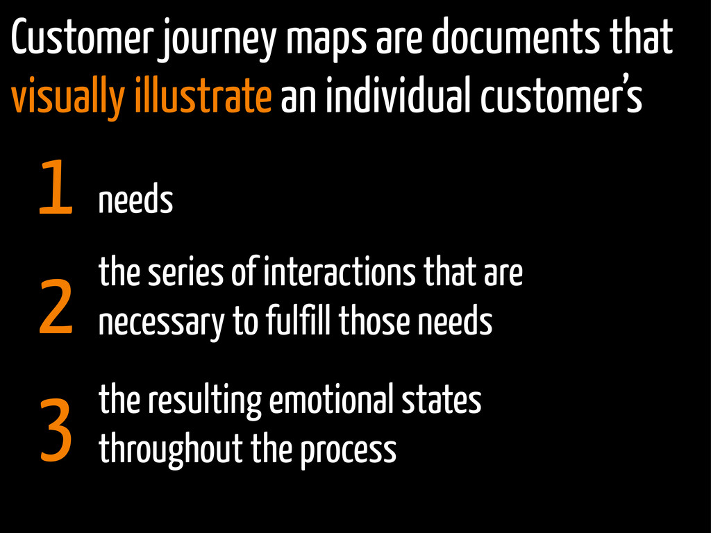 Customer journey maps are documents that visual...