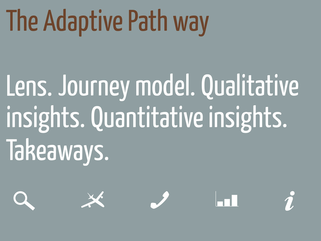 Lens. Journey model. Quantitative insights. Tak...