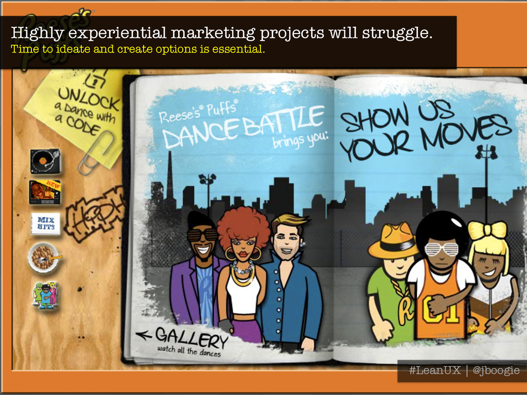 Highly experiential marketing projects will str...