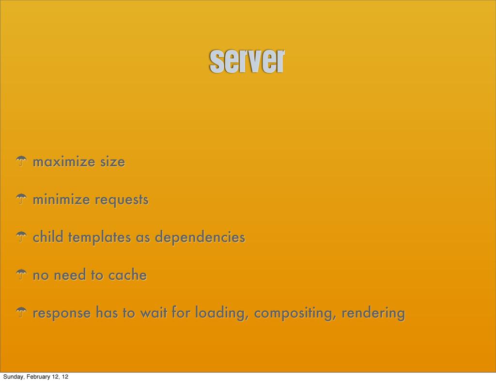 server ' maximize size ' minimize requests ' ch...