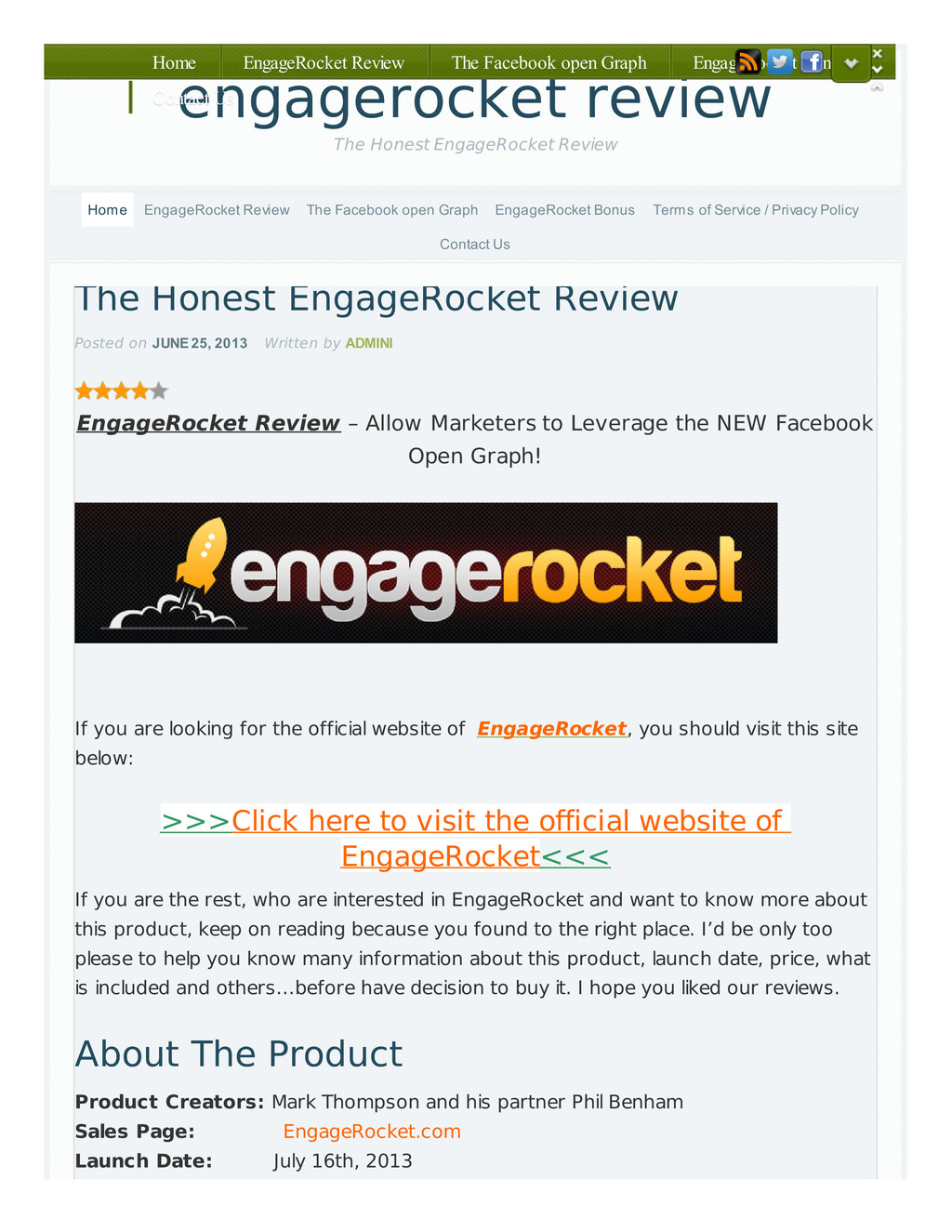The Honest EngageRocket Review Posted on JUNE 2...