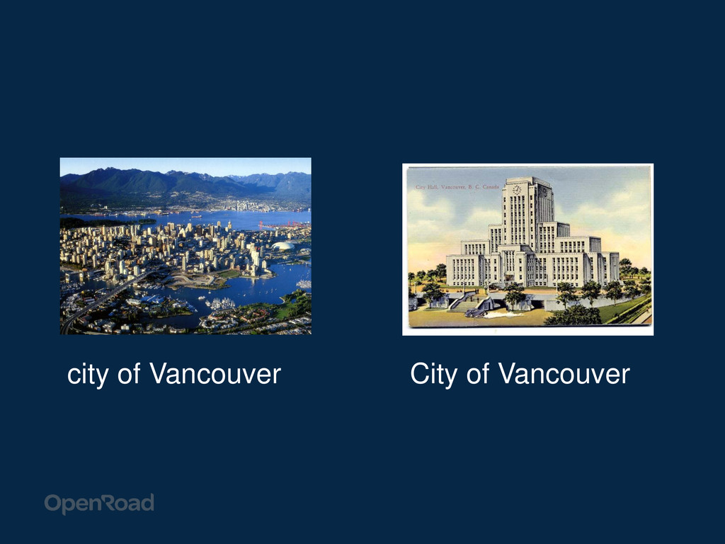 city of Vancouver City of Vancouver