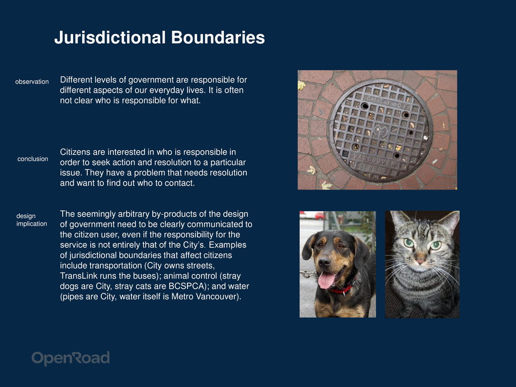 Jurisdictional Boundaries Different levels of g...