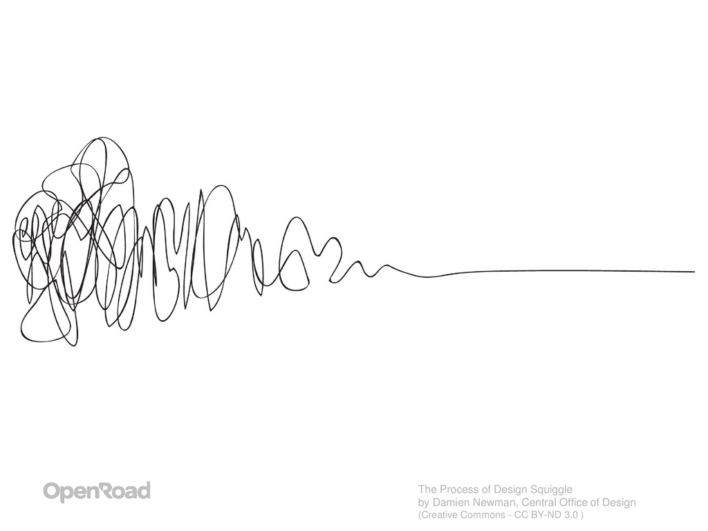 The Process of Design Squiggle by Damien Newman...