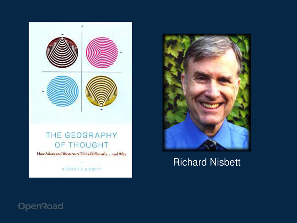 Richard Nisbett