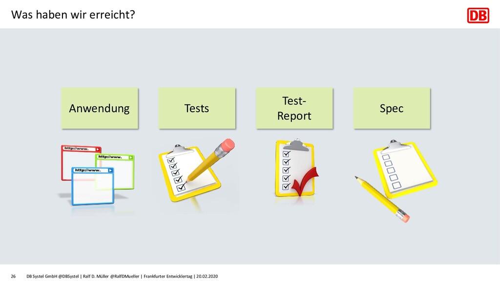 Was haben wir erreicht? DB Systel GmbH @DBSyste...