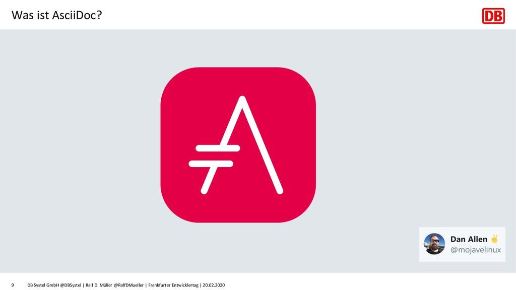 Was ist AsciiDoc? DB Systel GmbH @DBSystel | Ra...