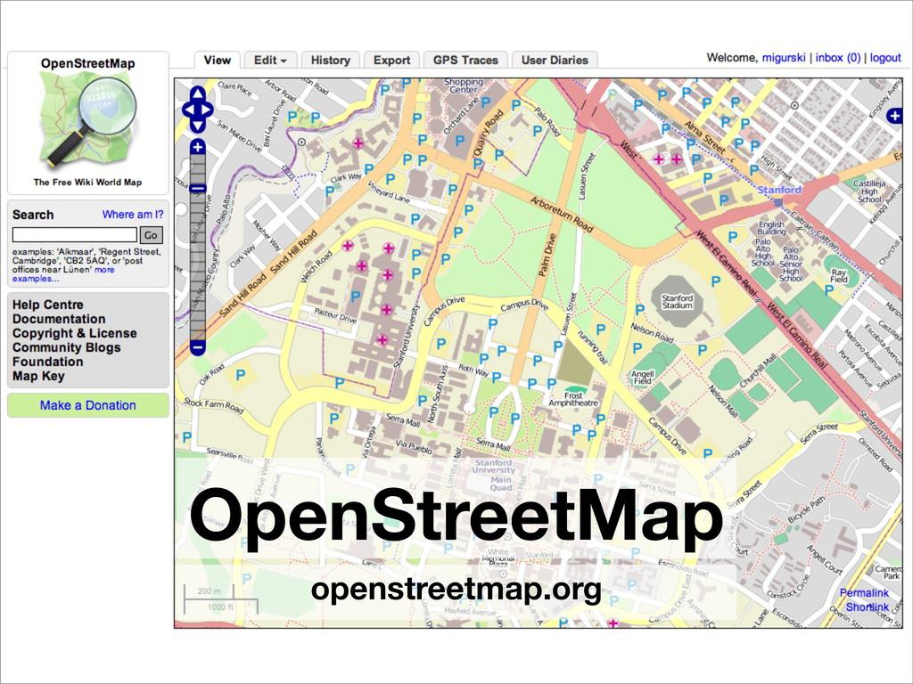 OpenStreetMap openstreetmap.org