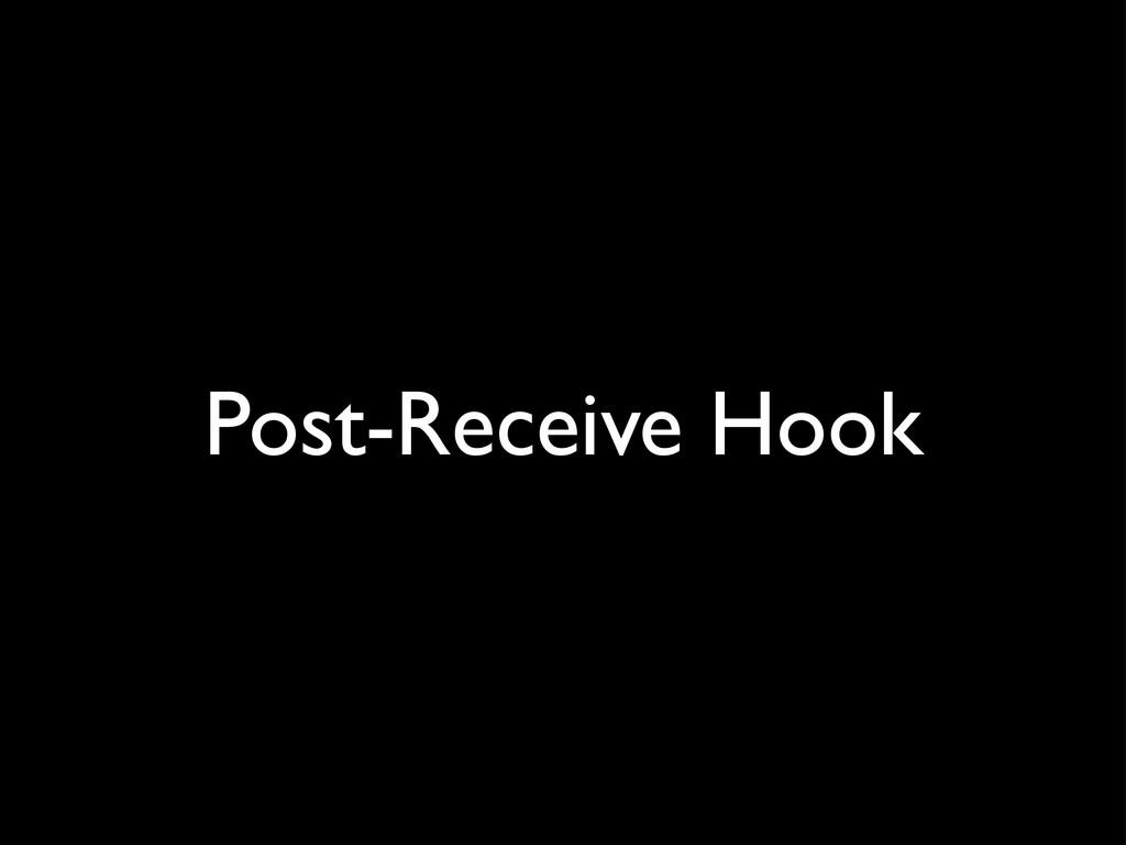Post-Receive Hook