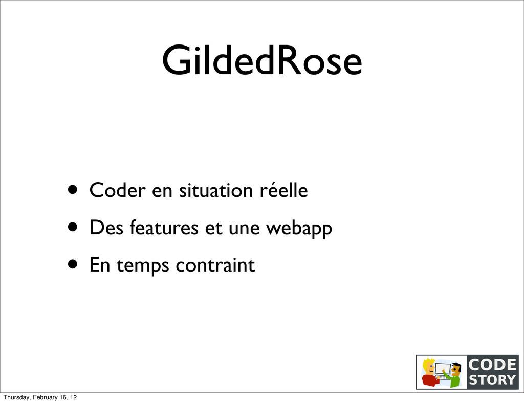 GildedRose • Coder en situation réelle • Des fe...