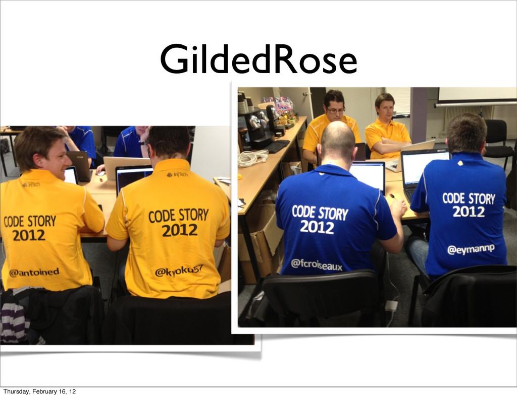 GildedRose Thursday, February 16, 12