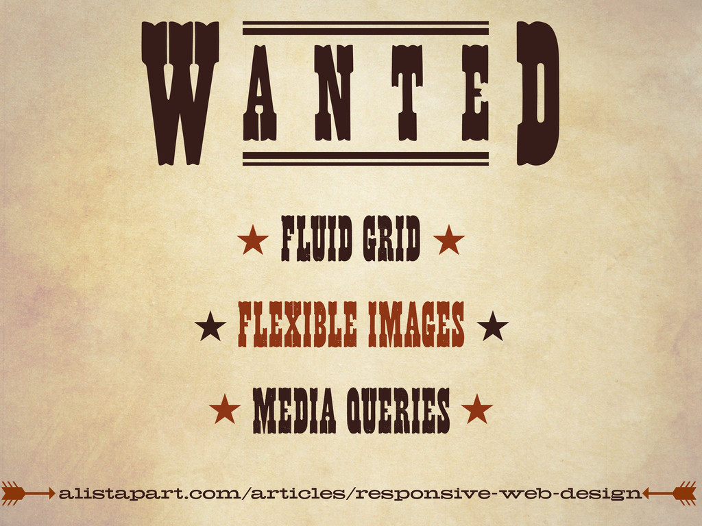 A N T E W D FLUID GRID FLEXIBLE IMAGES MEDIA QU...
