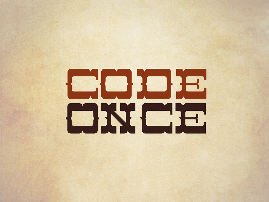 CODE ONCE