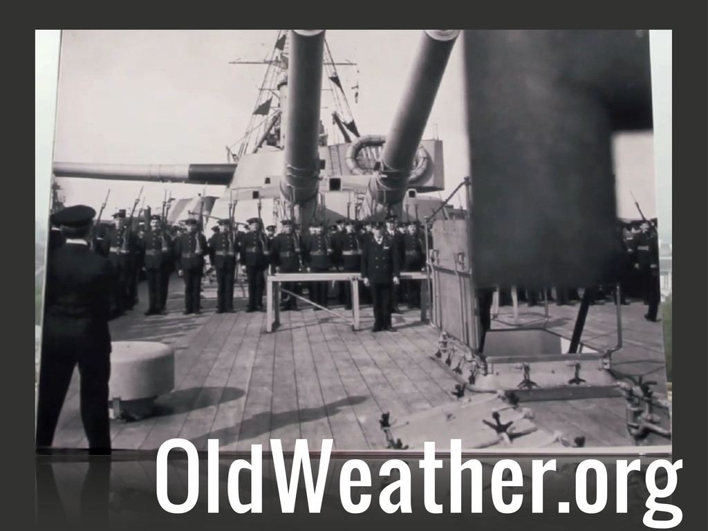 OldWeather.org