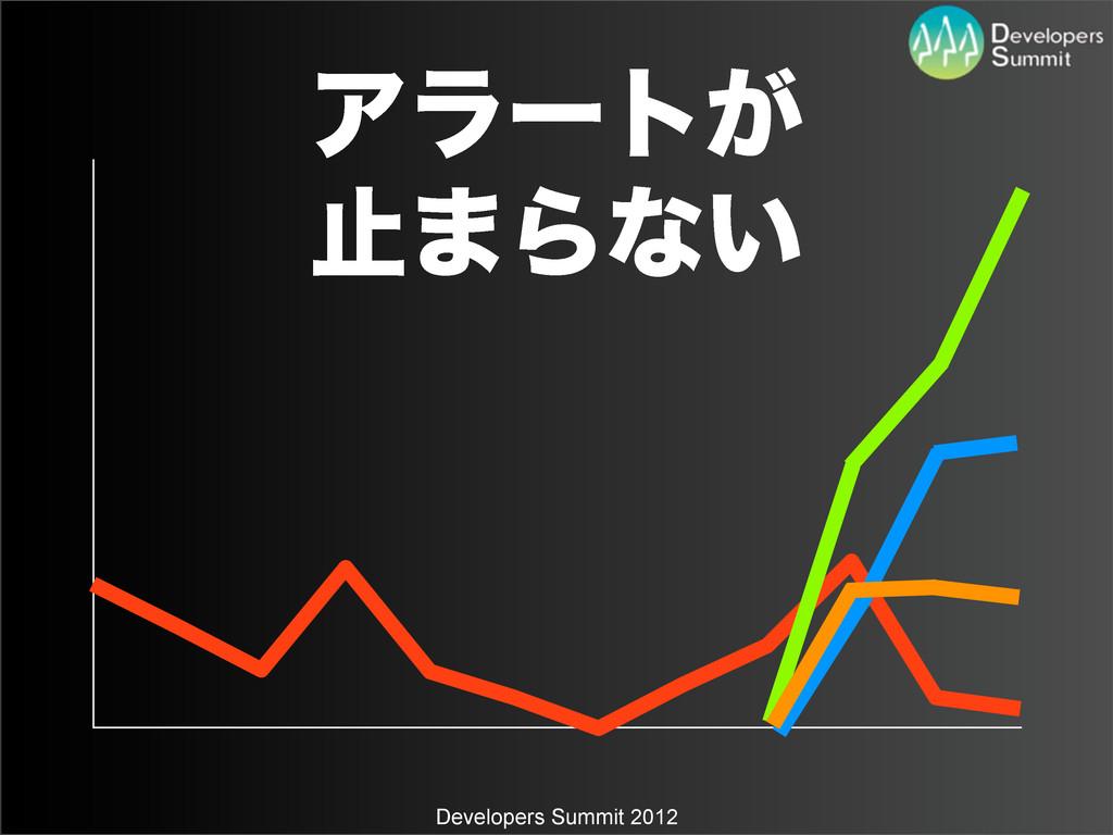 Developers Summit 2012 Ξϥʔτ͕ ࢭ·Βͳ͍