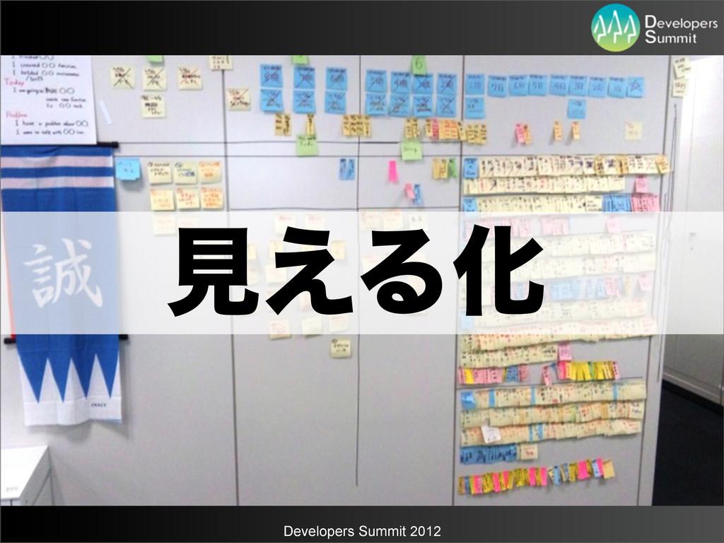 Developers Summit 2012 ݟ͑ΔԽ