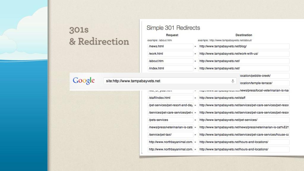 301s & Redirection