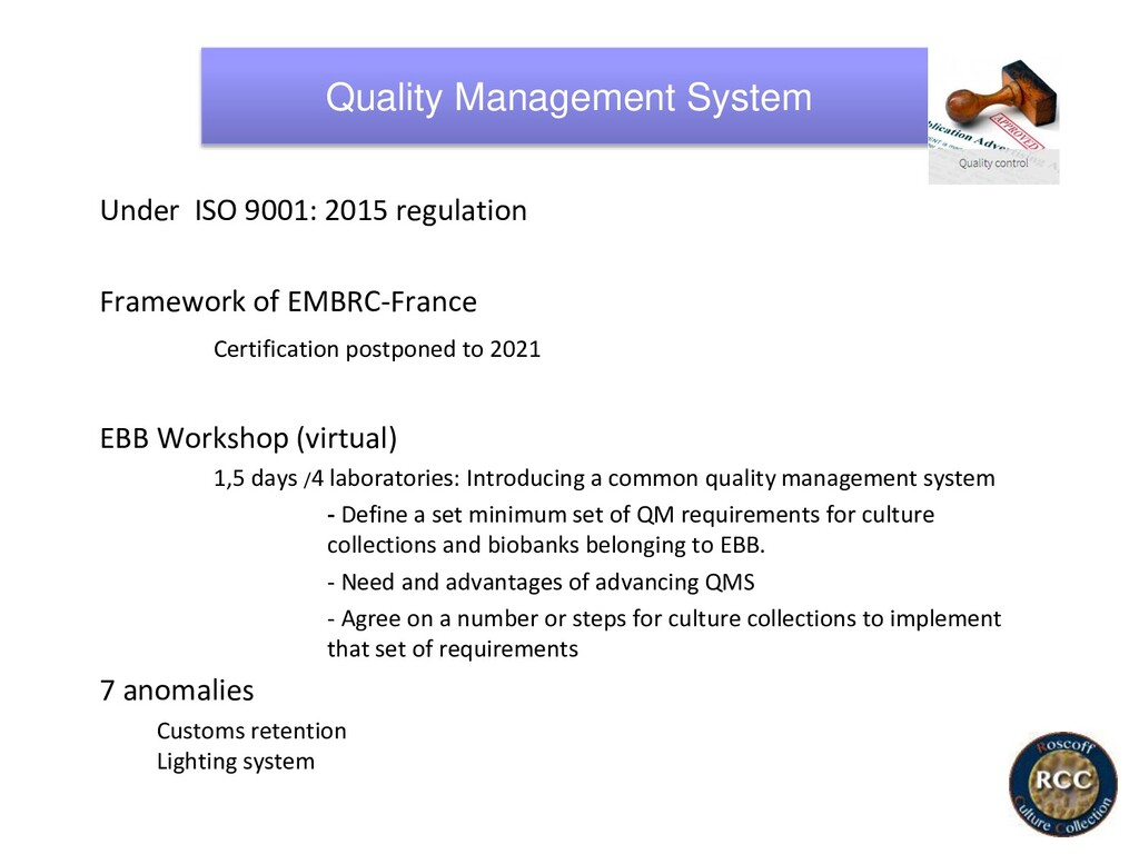 Quality Management System Under ISO 9001: 2015 ...