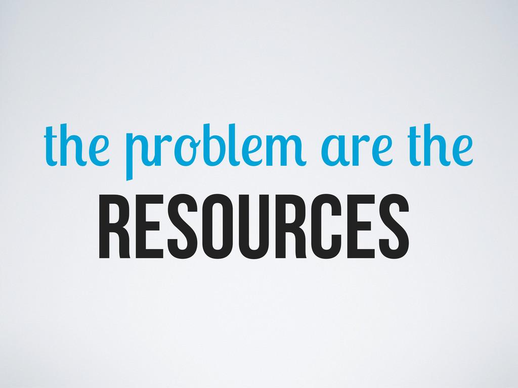 Resources r b r