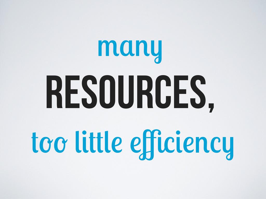 Resources, ffi