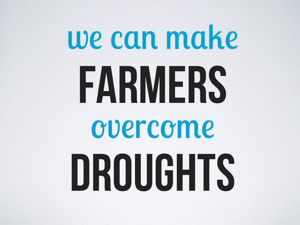 w farmers v r droughts