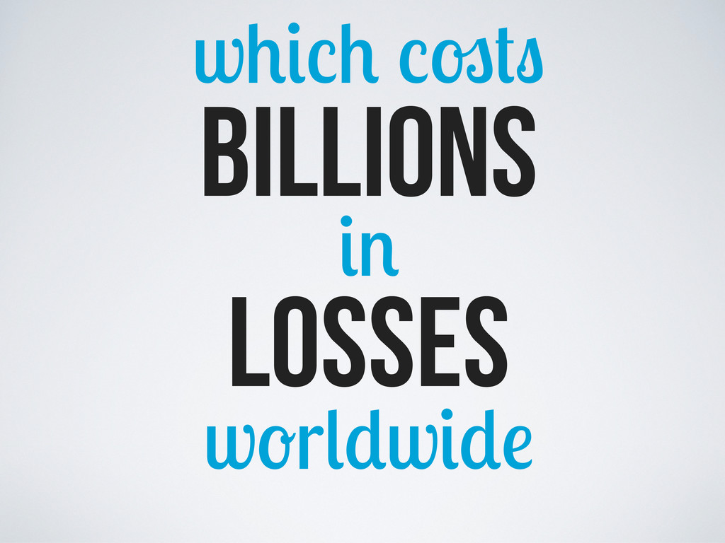 w billions losses w r w