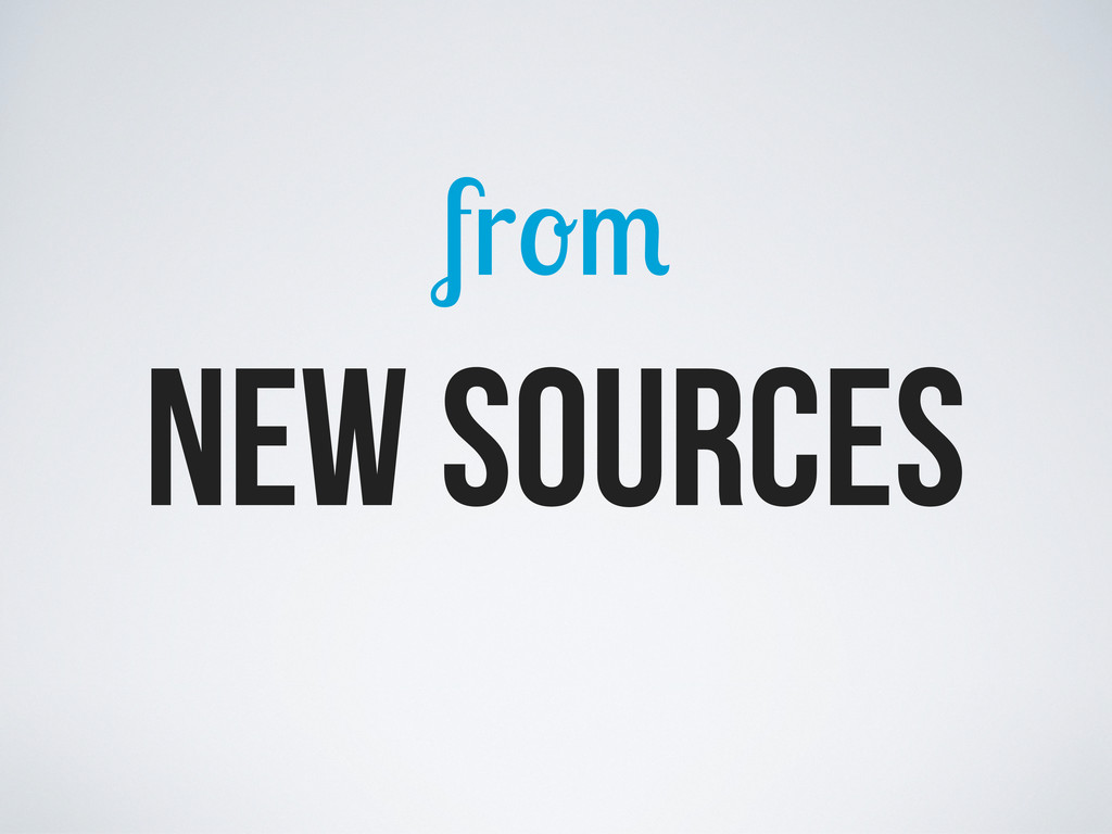 fr new sources