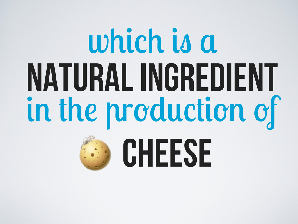 w natural ingredient r f cheese