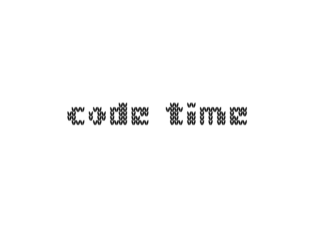 code time