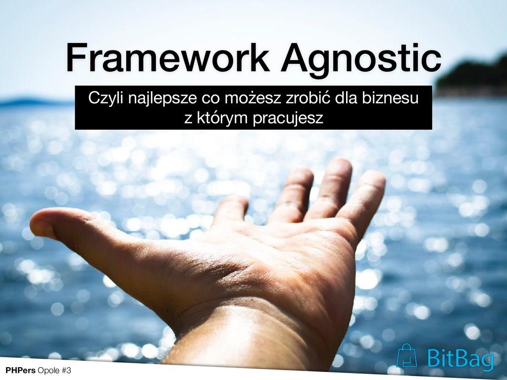Framework Agnostic Czyli najlepsze co możesz zr...