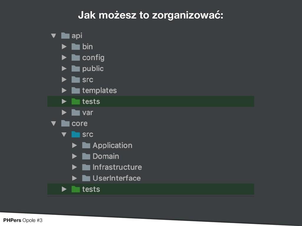 Jak możesz to zorganizować: PHPers Opole #3
