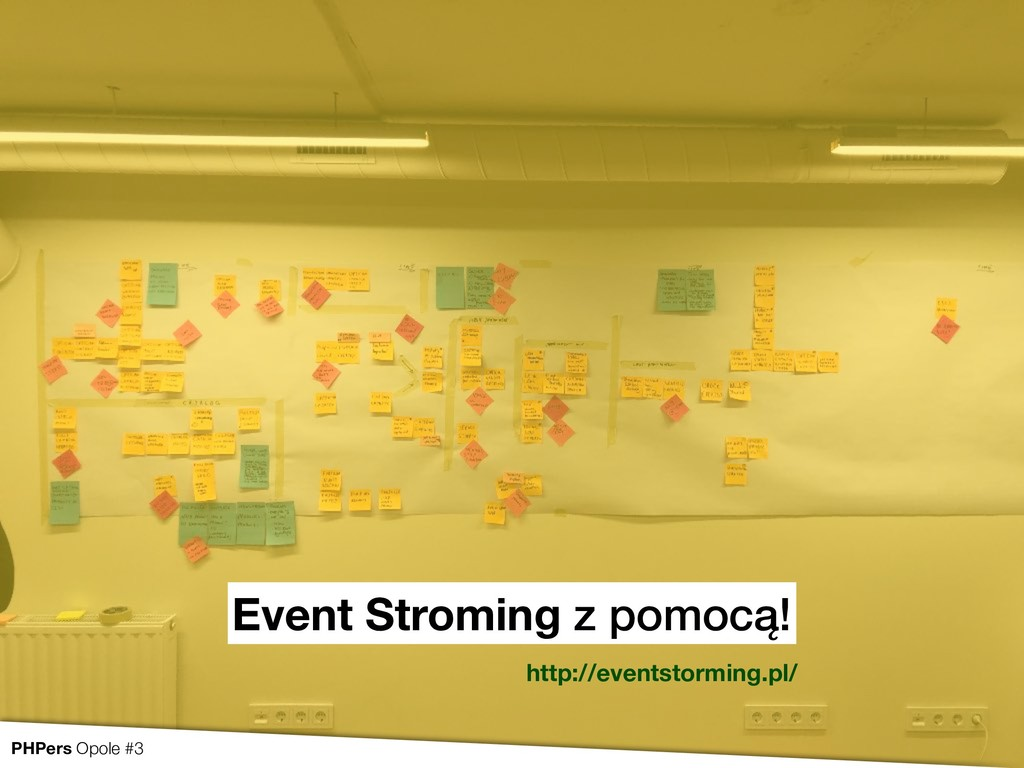 Event Stroming z pomocą! http://eventstorming.p...