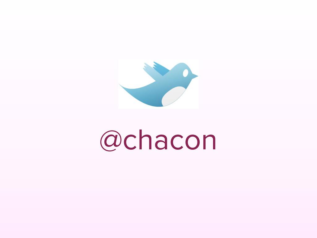 @chacon